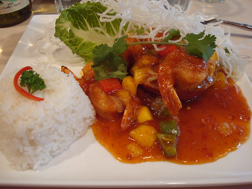 Spicy Mango Shrimp