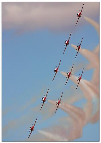 Escuadron de aviones