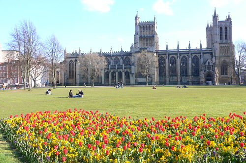 Cathedral across college green