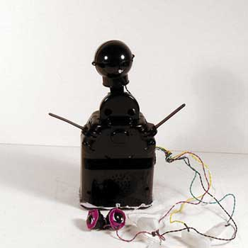 Robot Barney - naked