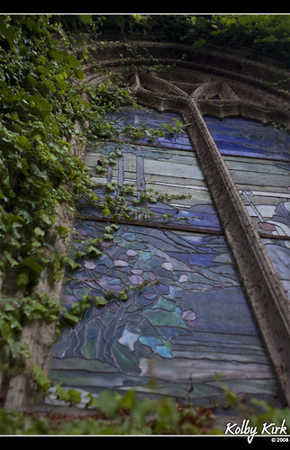 Stained Glass & Ivy