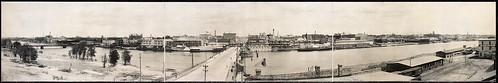Saginaw Michigan Waterfront, c1912