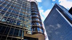 Canary Wharf (Miradortigre) Tags: skyscrapers rascacielos torres vidrio glass londres canary wharf london england inglaterra arquitectura architecture internacional international