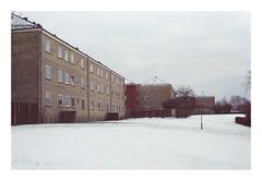 Apartments (Christopher Magni Kjerholt) Tags: nikon el fuji 400 expired 2009 herning denmark