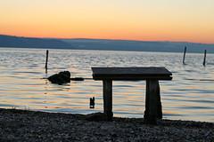 Recreation (YanBiBiYan) Tags: coast lake water sky sunset sundown view canon
