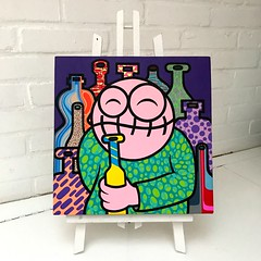 Lots of Booze (PressOne) Tags: pressone doerak 2016 canvas acryllic booze bottles colors smile