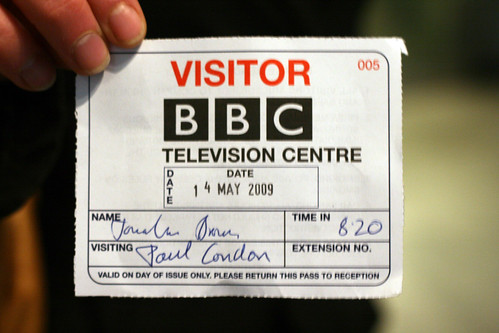 BBC  visitor pass