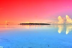 Magical Colours (matey_88 ( OFF )) Tags: sea clouds island nikon colours resort filter um majid maldives matey mohamed clubmed hulhumale abigfave d700 uniquemaldives