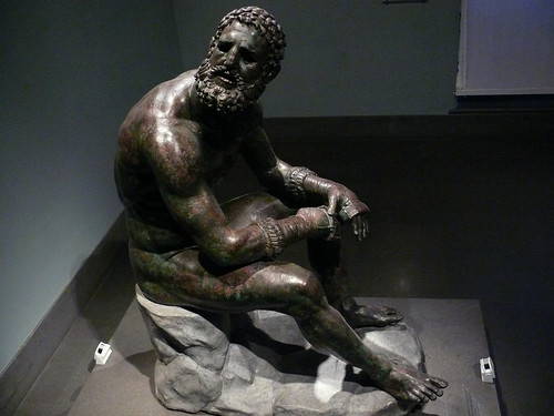 The Boxer of Quirinal  - Roman bronze boxer