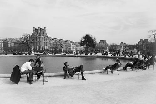 Bassin Rond, Jardin des Tuileries