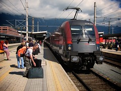 Train in Innsbruck
