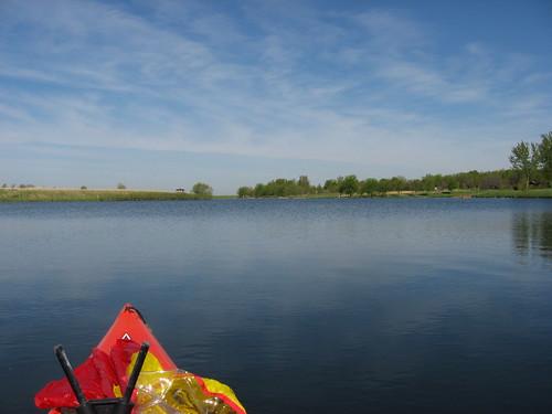 Kayaking The Lakes Of South Dakota Lake Pahoja Iowa May