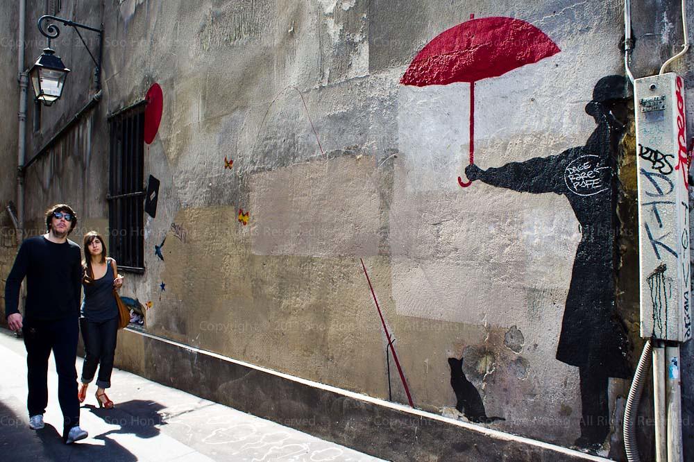 Have an umbrella @ Paris, France