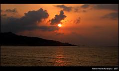 Sunset (paannyeri) Tags: sunset red sea cloud sun yellow turkey relax trkiye blacksea karadeniz deniz bulut rize gnbatm gne sar turkei krmz eow mywinners fotorafkraathanesi paannyeri
