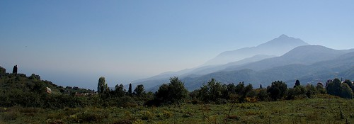 Mt Athos Panorama
