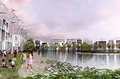 Dongtan Eco city (Tourist Republic) Tags: world china city eco warming global dongtan environement sustaible