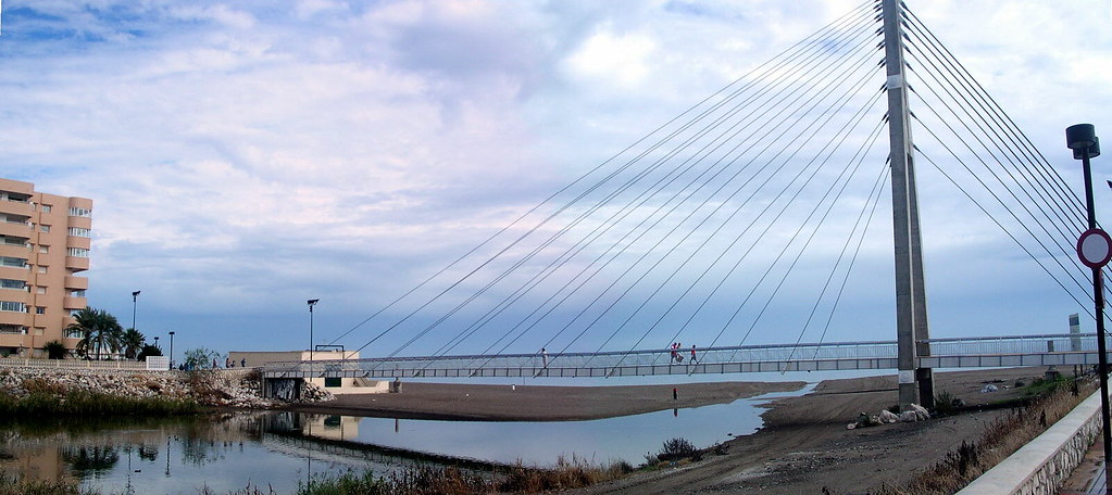 Walkbridge in Fuengirola