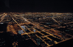 Miles of Lights (caribb) Tags: travel urban usa chicago tower america us illinois downtown view unitedstates sears visit tourist vista touring etatsunis vistor