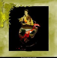 """Piel... Morena"" (Professor Syd) Tags: art sepia surreal illusion fantasy vase filipina edit textured tonal specialeffects ysplix"