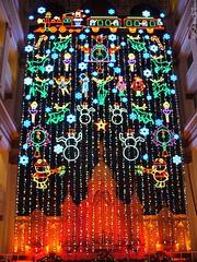 Wana-Macy's Holiday Light Show Finale 2007 (Harpo42) Tags: show santa snowflake christmas light holiday history philadelphia beautiful train festive centercity frosty twinkle pa organ macys philly rudolph tradition lcd wanamaker