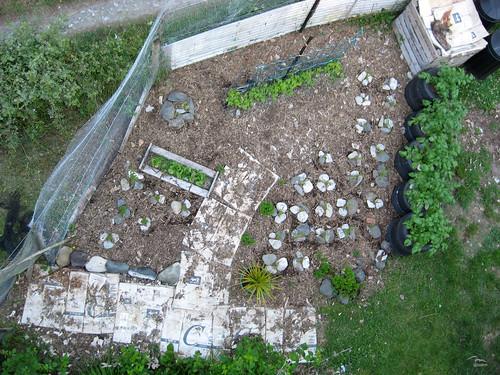 back garden polecam