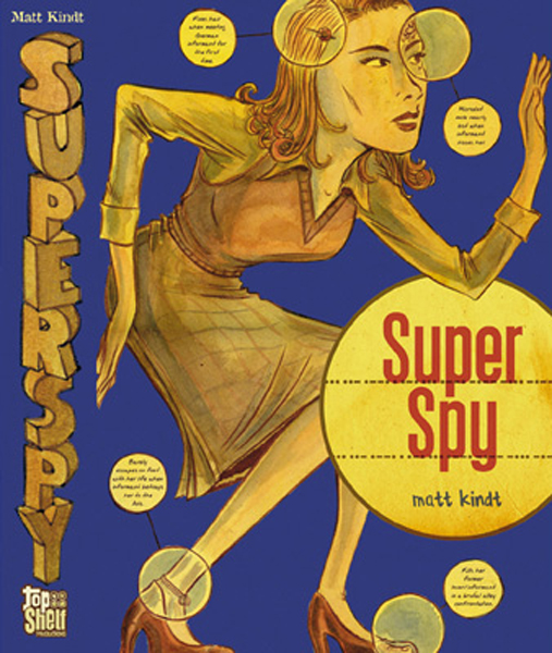 Super Spy- Cover
