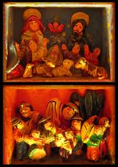 Pesebre en caja (skizoidman) Tags: maria bue manger creche natale presepe giuseppe asino bambino pesebre pastori asinello ges skizoidman