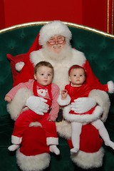 Santa and the Twins