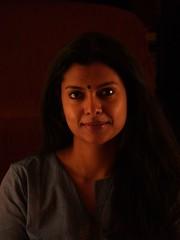 Amu (akraj) Tags: portrait christmaslights amu amudha