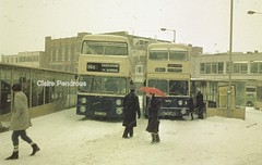 Yow'm as cowd as ice! (Lady Wulfrun) Tags: winter snow cold west bus buses station st bristol paul 1982 wind vrt january wm blizzard 8th vr inspector walsall drift fleetline nothern midlands counties mcw wintery blizzards pte transpot 4020 4728 wmpte