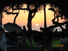Summer Sunset in San Diego- La Jolla Shores (Raven Haired) Tags: lajollashores sunsetinsandiego