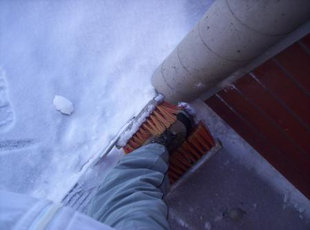 The Finnish snow brush