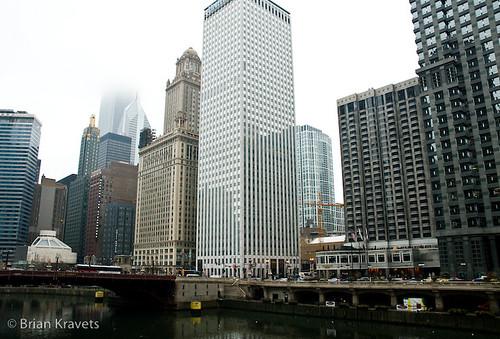 Chicago River Scape