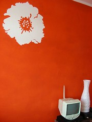 Living room wall (tiexano) Tags: orange