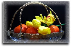 Best Wishes (Mr. FRANTaStiK) Tags: stilllife food orange flower art fruits fruit health tulip wishes tray presentation oranges decor soe desktopphoto stillphoto fruittray fruitflower mywinners platinumphoto anawesomeshot glasstray superbmasterpiece diamondclassphotographer flickrdiamond theunforgettablepictures fiveflickrfavs fongetz francistan theperfectphotographer forhealth flickrestrellas