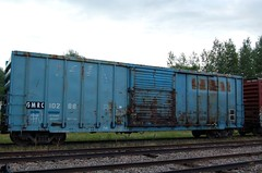 GMRC 10288 (trainman308) Tags: railroad train vermont tank railway trains boxcar hopper freight tanker railroads oilcar