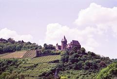 Castle Ruins along the Rhine (pjink11) Tags: castles film germany europe 1998 rhine rhineriver