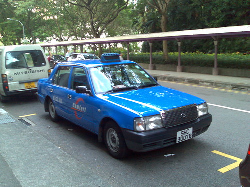Singapore Comfort taxi | Flickr - Photo Sharing!