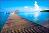 Welcome to Paradise (Chee Seong) Tags: trip summer vacation beach clouds canon boats island pier diving east malaysia sabah kk survivorisland canon1022mm blueribbonwinner pulautiga 400d anawesomeshot impressedbeauty