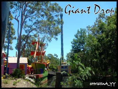 Big 6 Thrill Rides: The Giant Drop