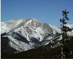 Mt.Taylor-13,651 (truan) Tags: mountain rockies colorado salida monarchpass chaffeecounty mttaylor sawatch collegaterange
