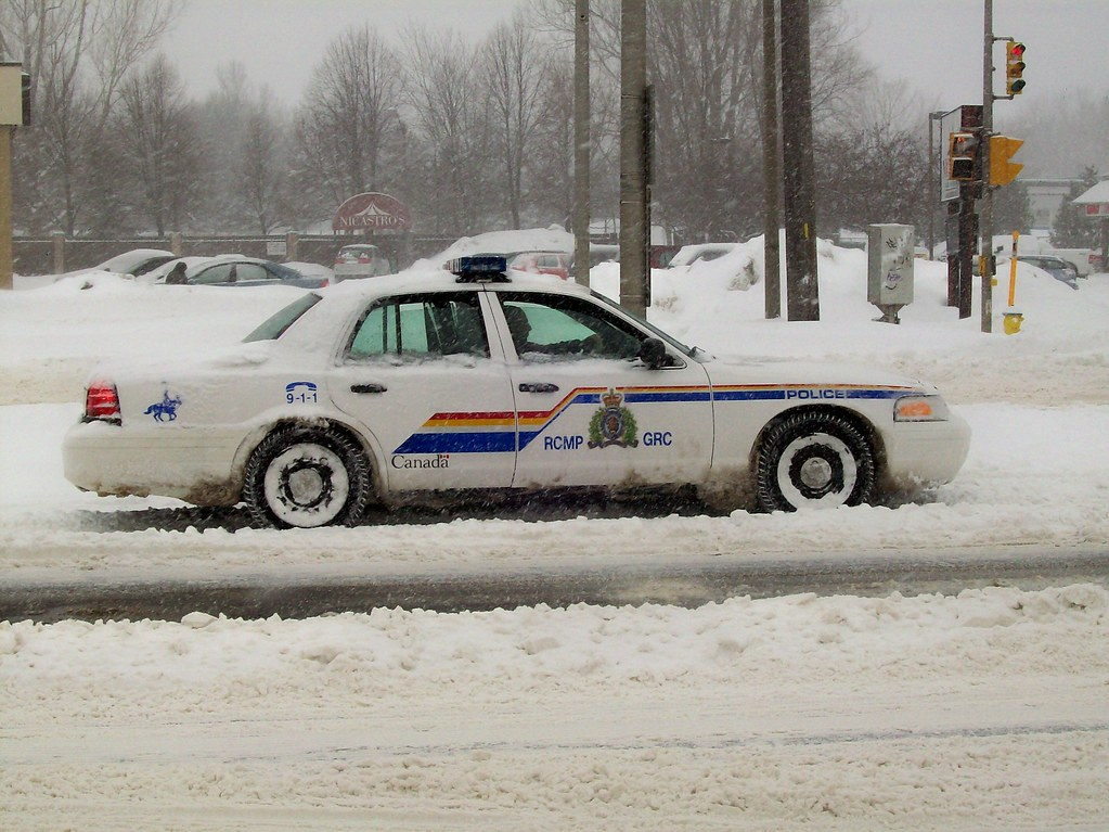 An Rcmp Ford Crown Victoria Police Interceptor Steve Brandon Tags