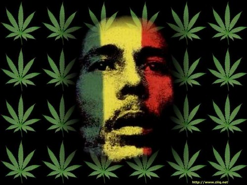 Anon Bob Marley Smoking Weed Marijuana 1980 Rastafarians Smoke Held A Memorial