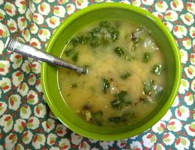 Tan Abour (Yogurt Soup)