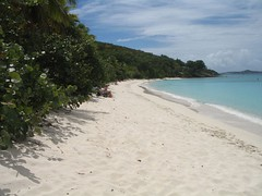 Honeymoon Beach, St. Johns