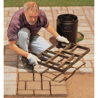 faux stone pavers