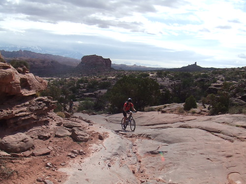 Riding Amasa Back Trail