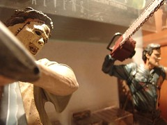 n593795011_2647086_2490 (betamaxboy) Tags: toy toys actionfigure leatherface actionfigures brucecampbell armyofdarkness mcfarlane texaschainsawmassacre