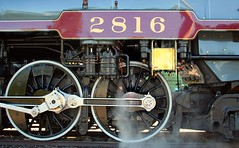 Canadian Pacific 2816 (Laurence's Pictures) Tags: railroad chicago classic museum train illinois pacific transport engine royal railway canadian steam special transportation locomotive empress hudson passenger powerhouse steamtrains 464 2816