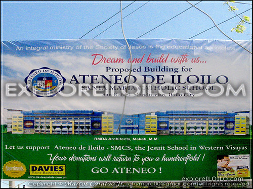 Perspective of new Ateneo de Iloilo Main Campus in Brgy. San Rafael, Mandurriao